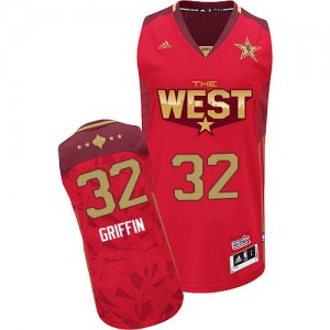 Maillot Adidas Rouge 2011 All Star Authentic Los Angeles Clippers - Blake Griffin #32 - Homme
