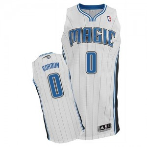Maillot Adidas Blanc Home Authentic Orlando Magic - Aaron Gordon #0 - Homme