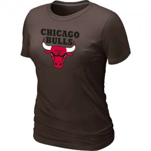 T-Shirt NBA Chicago Bulls marron Big & Tall - Femme