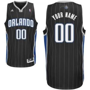 Orlando Magic Personnalisé Adidas Alternate Noir Maillot d'équipe de NBA Prix d'usine - Swingman pour Enfants