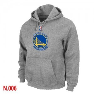 Pullover Sweat à capuche Golden State Warriors NBA Gris - Homme