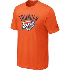 T-Shirt NBA Oklahoma City Thunder Big & Tall Orange - Homme