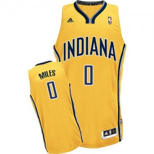 Maillot Swingman Indiana Pacers NBA Alternate Or - #0 C.J. Miles - Homme