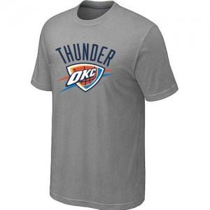 T-Shirt NBA Oklahoma City Thunder Gris Big & Tall - Homme