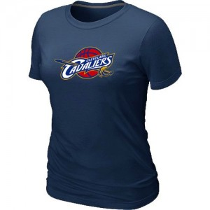 Cleveland Cavaliers Big & Tall T-Shirt d'équipe de NBA - Marine pour Femme