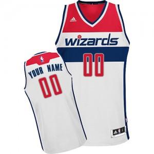 Maillot Washington Wizards NBA Home Blanc - Personnalisé Swingman - Homme