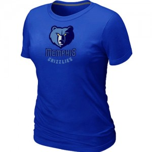 T-Shirt NBA Bleu Memphis Grizzlies Big & Tall Femme