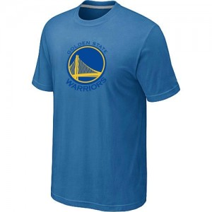 T-Shirt NBA Golden State Warriors Bleu clair Big & Tall - Homme