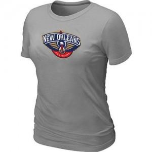 T-Shirt NBA New Orleans Pelicans Gris Big & Tall - Femme