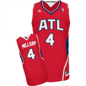 Maillot NBA Swingman Paul Millsap #4 Atlanta Hawks Alternate Rouge - Homme