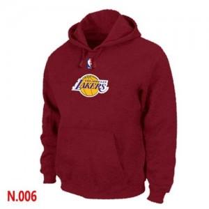 Sweat à capuche NBA Los Angeles Lakers Rouge - Homme