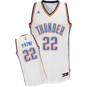Oklahoma City Thunder Cameron Payne #22 Home Swingman Maillot d'équipe de NBA - Blanc pour Homme