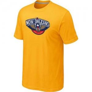 New Orleans Pelicans Big & Tall Jaune T-Shirt d'équipe de NBA en soldes - pour Homme