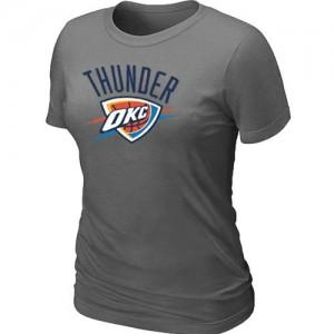 Oklahoma City Thunder Big & Tall T-Shirt d'équipe de NBA - Gris foncé pour Femme