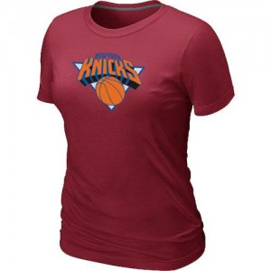 New York Knicks Big & Tall T-Shirt d'équipe de NBA - Rouge pour Femme