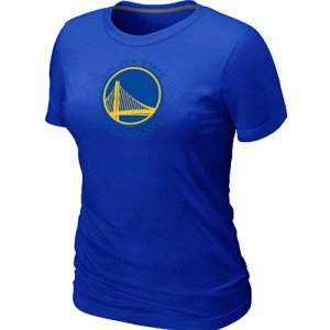 T-Shirt NBA Bleu Golden State Warriors Big & Tall Femme
