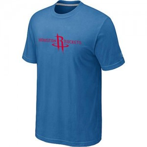 Houston Rockets Big & Tall Bleu clair T-Shirt d'équipe de NBA sortie magasin - pour Homme