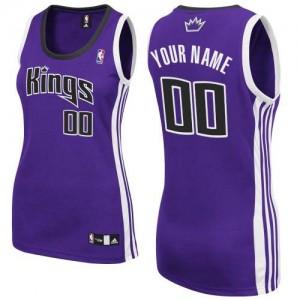 Maillot NBA Authentic Personnalisé Sacramento Kings Road Violet - Femme