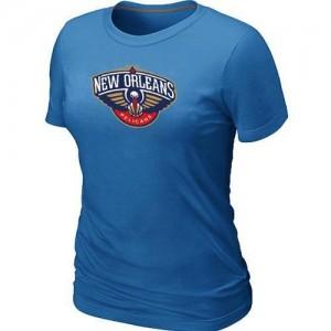 T-Shirt NBA Bleu clair New Orleans Pelicans Big & Tall Femme