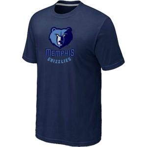 T-shirt principal de logo Memphis Grizzlies NBA Big & Tall Marine - Homme
