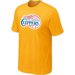 Los Angeles Clippers Big & Tall T-Shirt d'équipe de NBA - Jaune pour Homme
