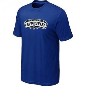San Antonio Spurs Big & Tall Bleu T-Shirt d'équipe de NBA la meilleure qualité - pour Homme
