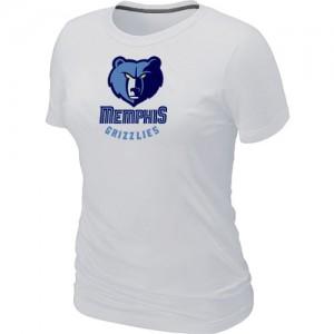 T-Shirt Blanc Big & Tall Memphis Grizzlies - Femme