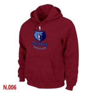 Sweat à capuche NBA Memphis Grizzlies Rouge - Homme