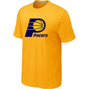 T-Shirt NBA Jaune Indiana Pacers Big & Tall Homme