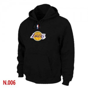 Los Angeles Lakers Sweat à capuche d'équipe de NBA - Noir pour Homme