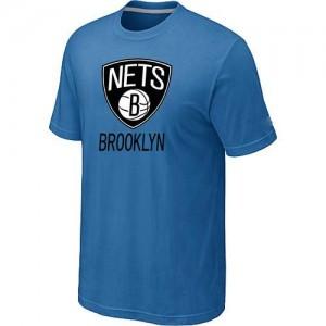 Brooklyn Nets Big & Tall T-Shirt d'équipe de NBA - Bleu clair pour Homme