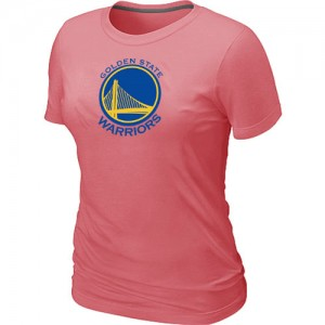 T-shirt principal de logo Golden State Warriors NBA Big & Tall Rose - Femme
