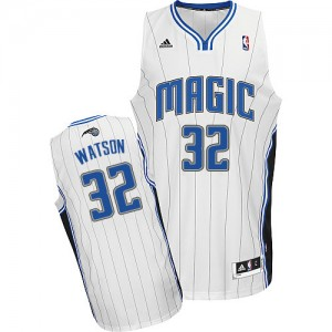 Maillot NBA Swingman C.J. Watson #32 Orlando Magic Home Blanc - Homme