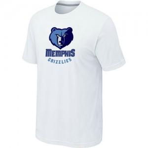 T-Shirt NBA Memphis Grizzlies Big & Tall Blanc - Homme