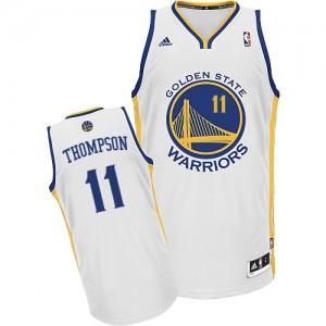 Golden State Warriors Klay Thompson #11 Home Swingman Maillot d'équipe de NBA - Blanc pour Femme