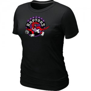 Toronto Raptors Big & Tall T-Shirt d'équipe de NBA - Noir pour Femme
