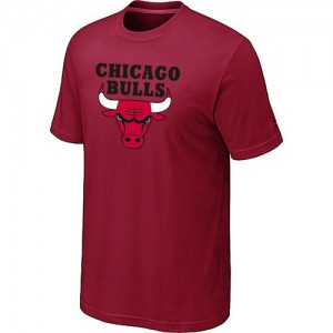 T-Shirt NBA Chicago Bulls Rouge Big & Tall - Homme