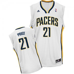 Maillot NBA Swingman A.J. Price #21 Indiana Pacers Home Blanc - Homme