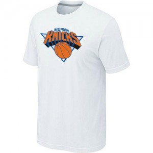 New York Knicks Big & Tall T-Shirt d'équipe de NBA - Blanc pour Homme
