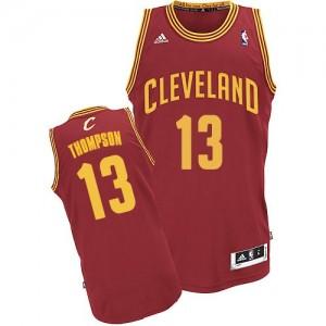 Maillot Swingman Cleveland Cavaliers NBA Road Vin Rouge - #13 Tristan Thompson - Homme