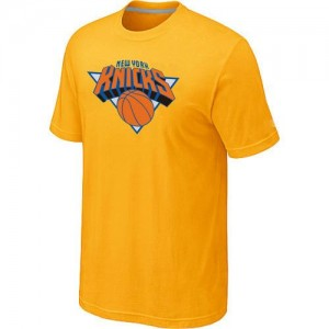 T-Shirt NBA Jaune New York Knicks Big & Tall Homme