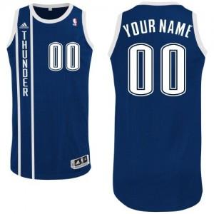 Maillot Oklahoma City Thunder NBA Alternate Bleu marin - Personnalisé Authentic - Homme