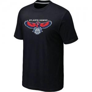 T-shirt principal de logo Atlanta Hawks NBA Big & Tall Noir - Homme