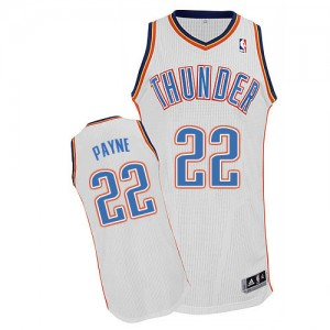 Oklahoma City Thunder Cameron Payne #22 Home Authentic Maillot d'équipe de NBA - Blanc pour Homme