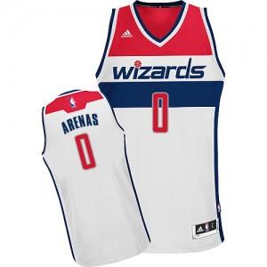 Maillot Adidas Blanc Home Swingman Washington Wizards - Gilbert Arenas #0 - Homme