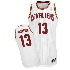 Cleveland Cavaliers #13 Adidas Home Blanc Authentic Maillot d'équipe de NBA la vente - Tristan Thompson pour Homme