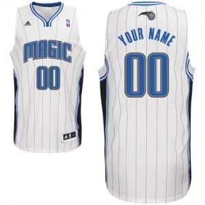 Orlando Magic Personnalisé Adidas Home Blanc Maillot d'équipe de NBA Prix d'usine - Swingman pour Homme