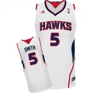 Maillot NBA Swingman Josh Smith #5 Atlanta Hawks Home Blanc - Homme