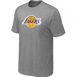 T-Shirt Gris Big & Tall Los Angeles Lakers - Homme