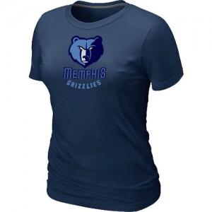 Memphis Grizzlies Big & Tall Marine T-Shirt d'équipe de NBA magasin d'usine - pour Femme